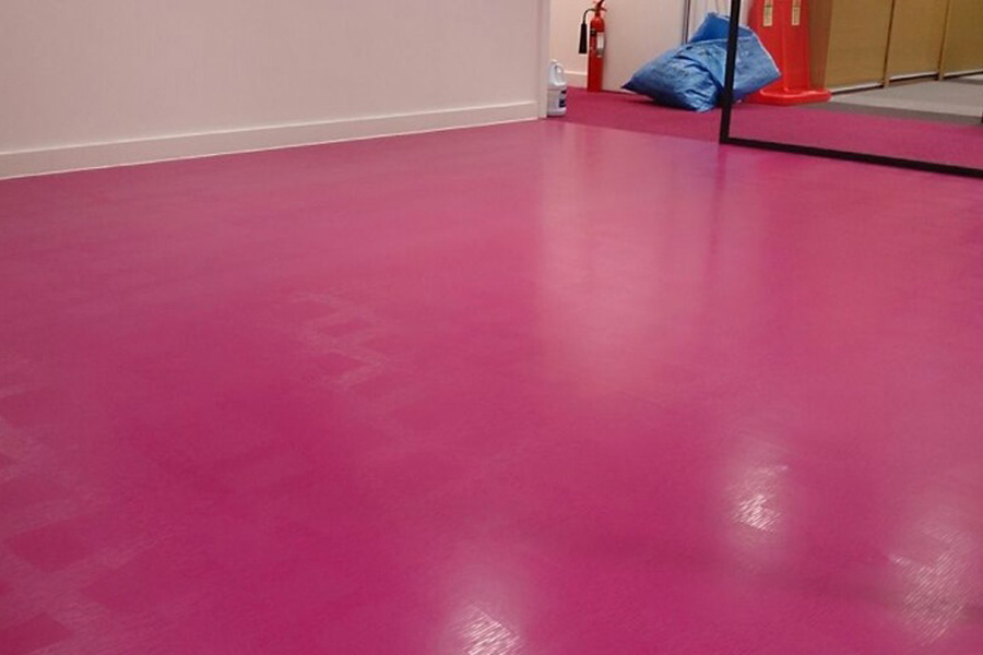 Pink Vinyl Flooring - Flooring Ideas and Inspiration